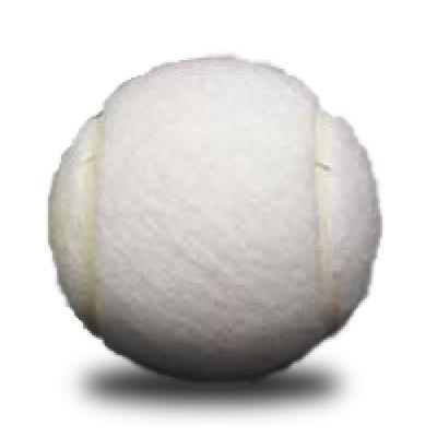 Image of Promotional White Tennis Balls - Custom Printed