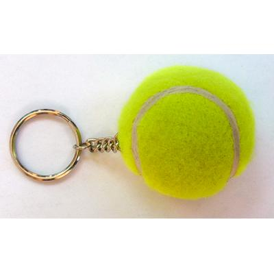 Image of Printed Tennis Ball Keyrings (MINI)