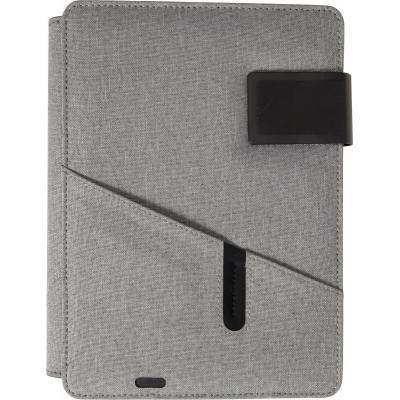 Image of Promotional A5 Document Folder With Integrated 4000 mAh Power Bank