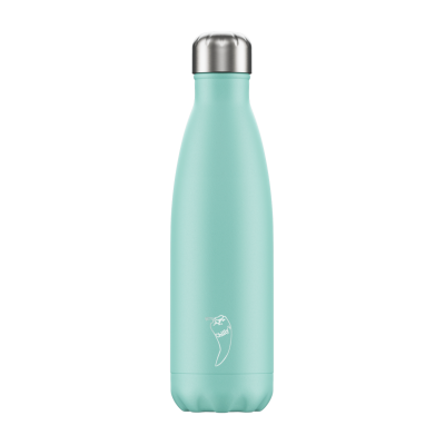 Image of Promotional Chilly's Bottles Pastel Green 500ml. Reusable Refill Bottle