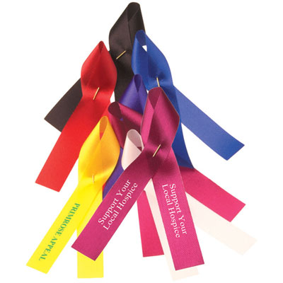 Image of Promotional Branded Campaign/Charity Ribbon