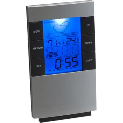 Image of Branded Digital Weather Station With Clock and Back Light