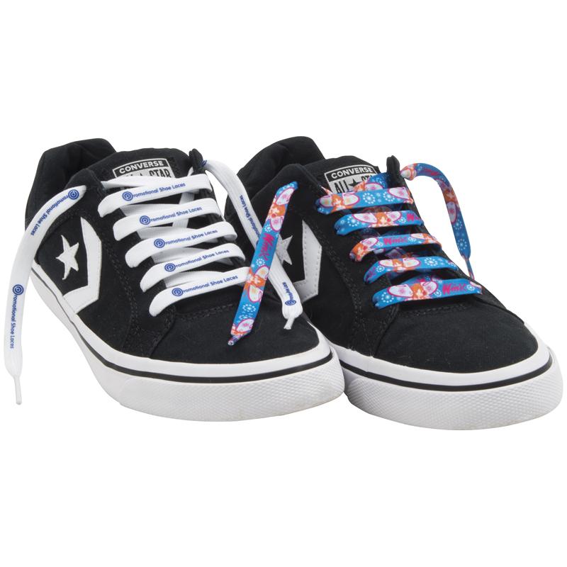 Flat Polyester Shoe Laces :: Footwear