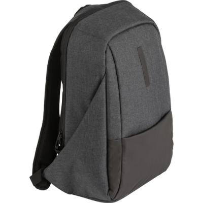 Image of PVC laptop backpack