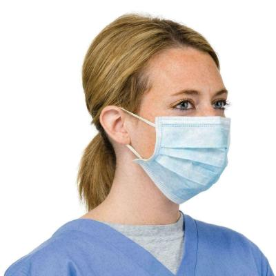Image of PPE Protective Blue Disposable Face Mask Universal Fit EN Certified
