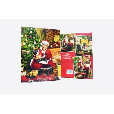Image of Promotional Traditional Christmas Chocolate Advent Calendar