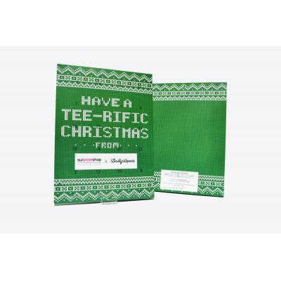 Image of Personalised Traditional Advent Calendars Branded With Your Company Logo