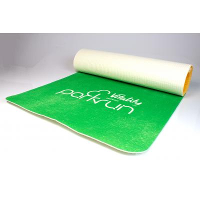 Image of Branded Yoga Fitness Mat With Full Coloured Print