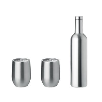 Image of Promotional Reusable Insulated Bottle And Mug Gift Set