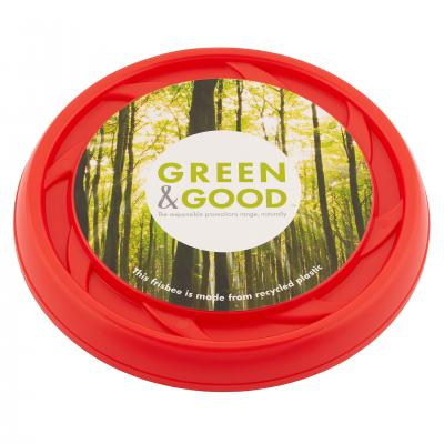 Image of Green & Good large frisbee